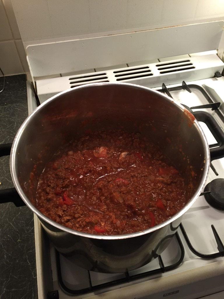 Lasagne - ragu