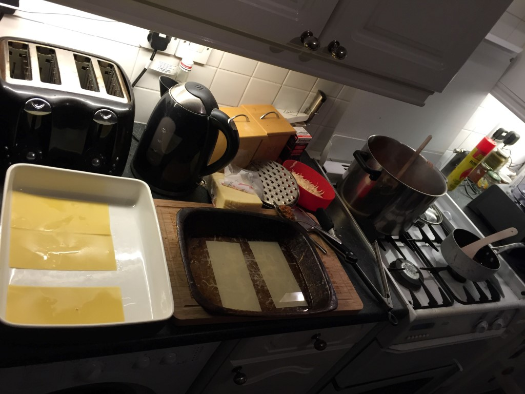 Lasagne - blanch