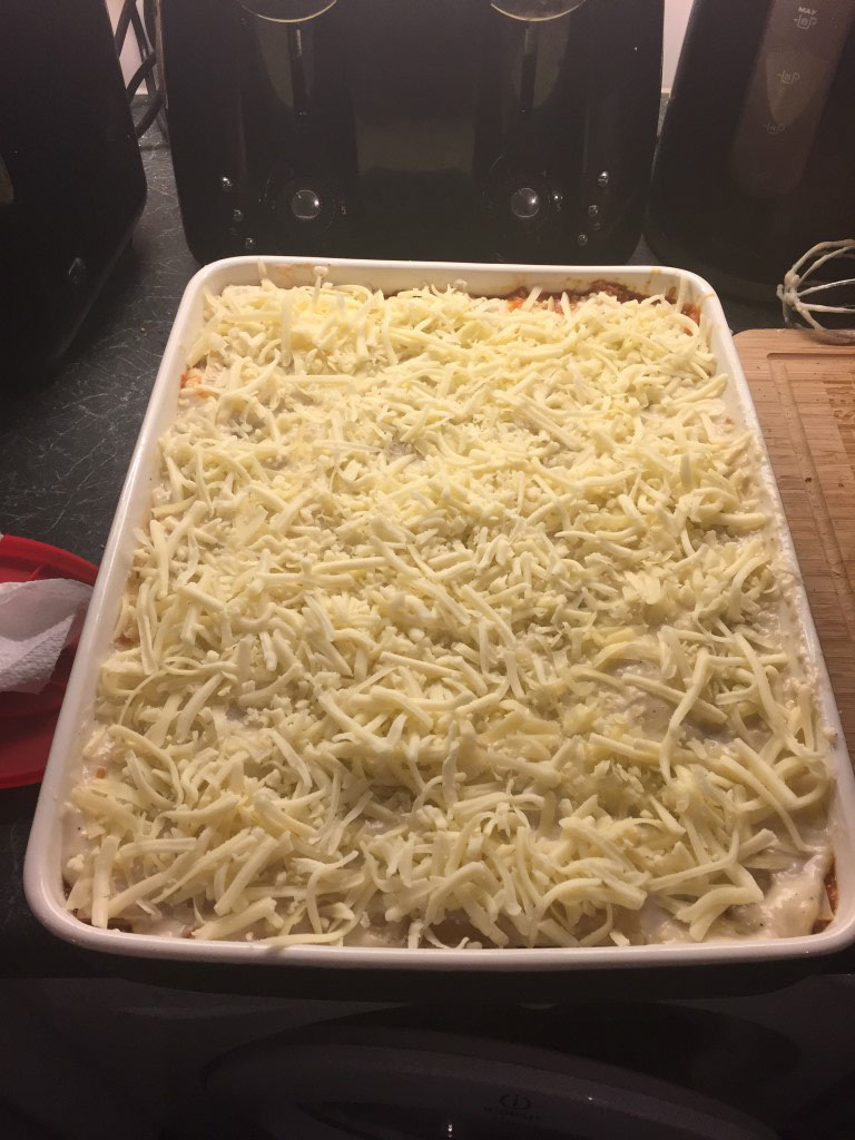 Lasagne - ready to cook